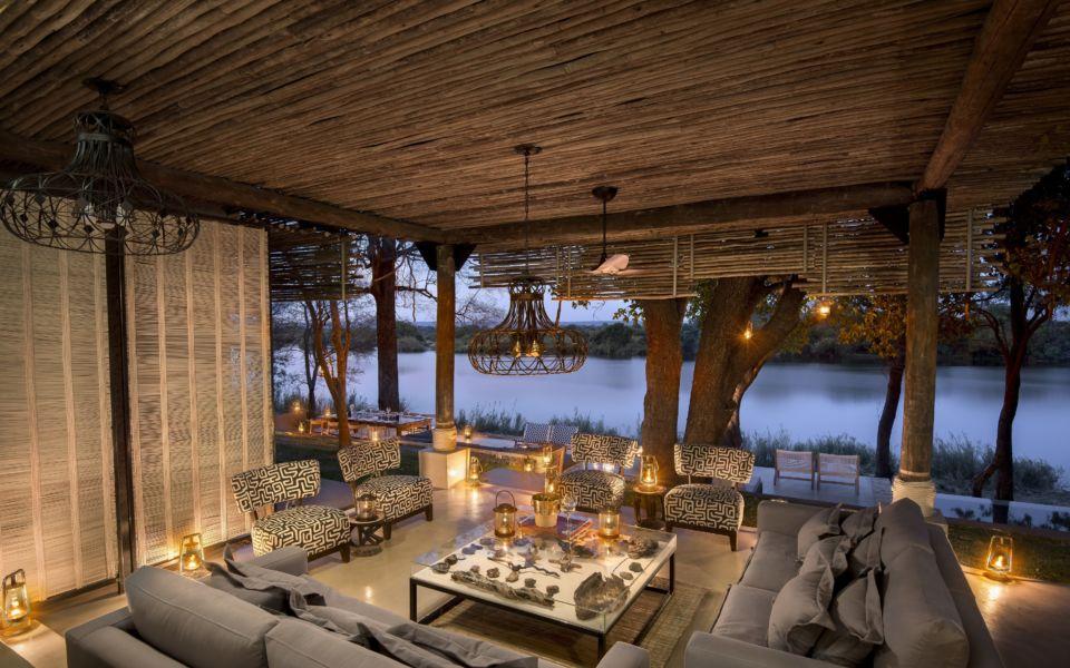 Matetsi River House Lounge