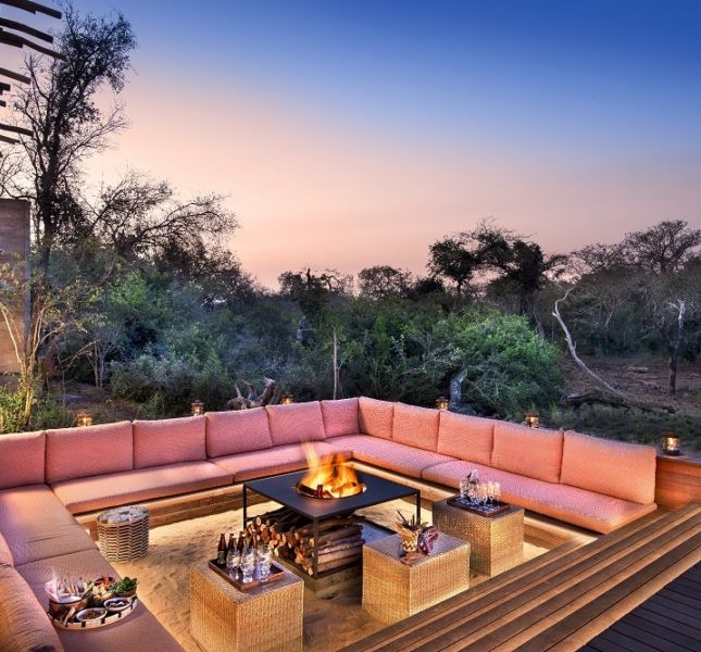 Fire Pit And Sunken Lounge