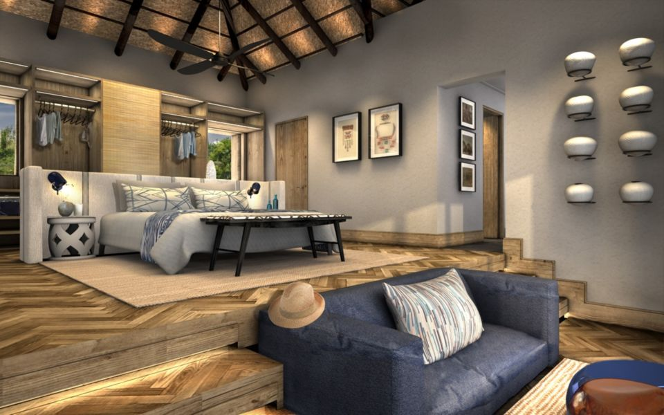 Phinda Mountain Lodge Guest Suite