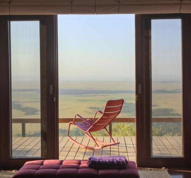 Angama Mara Rocking Chair Safari
