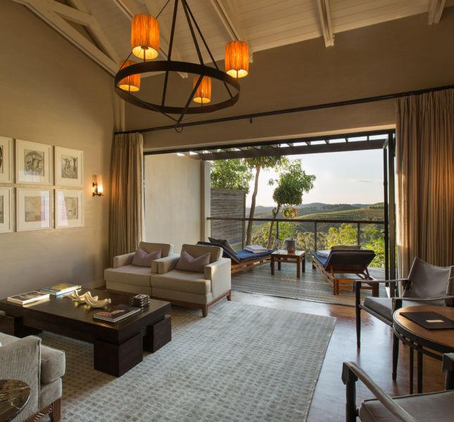 Luxury Lodge Interior