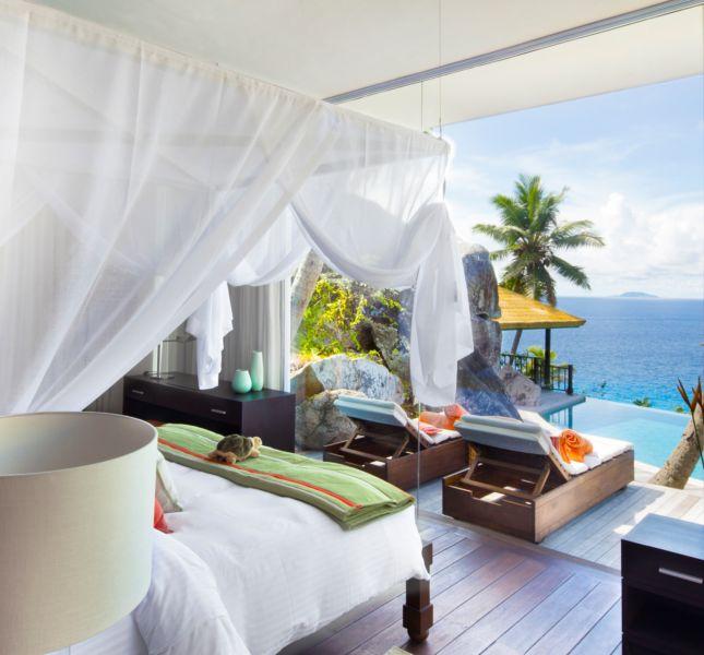Fregate Island Private Interior Private Pool Spa Residence Villa 16