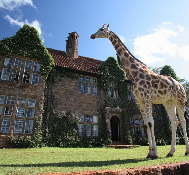 Giraffe Manor Exterior 25