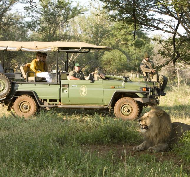 Safari Game Drive Vehicle Mateya