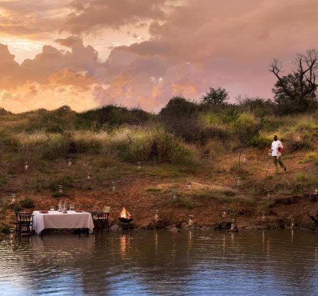 Morukuru Family Madikwe  Romantic Dinner