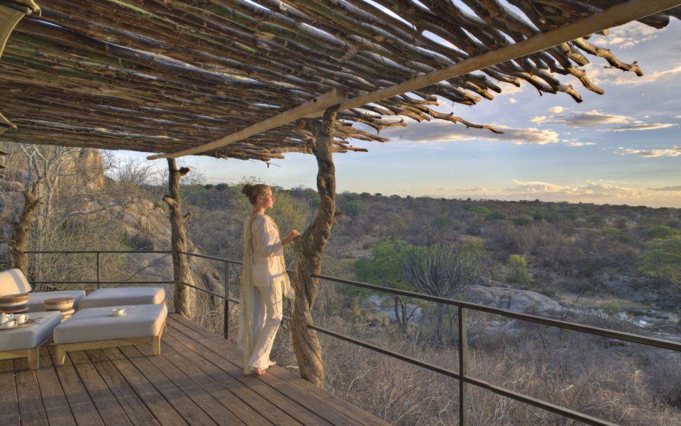 6  Mwiba Lodge View From Tent Verandah