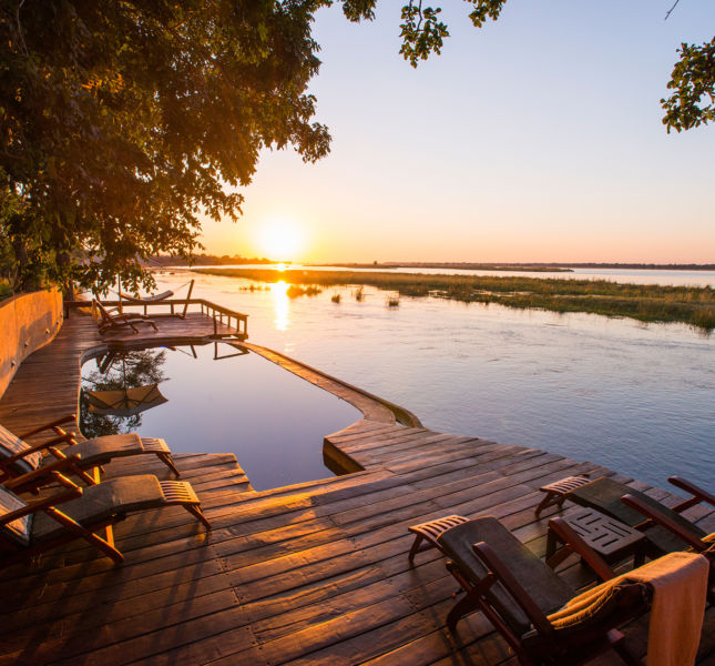 Royal Zambezi Deck Area