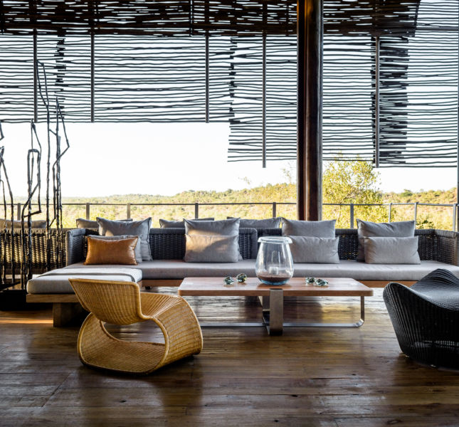 Singita Lebombo Lodge Lounge1