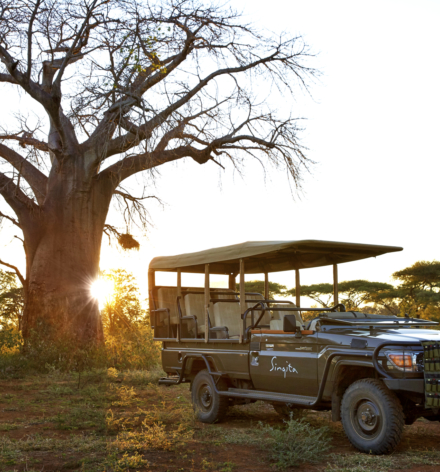 Singita Pamushana Lodge Game Drive Vehicle