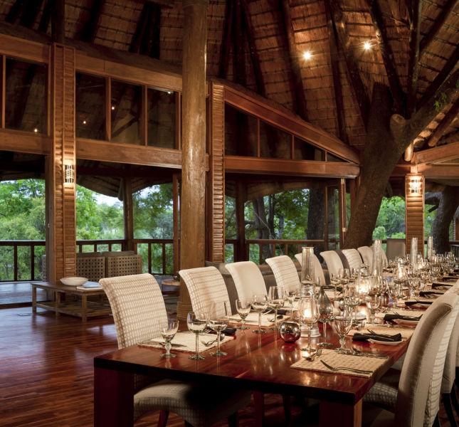 Safari Lodge Dining